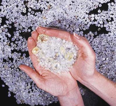 diamant aus mensch