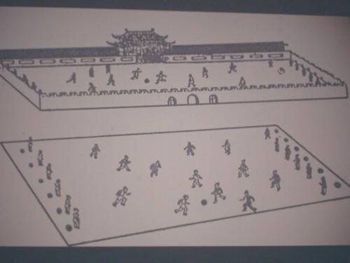 fussballfeld in china