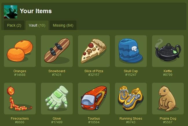 gowalla items