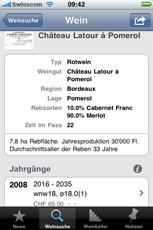 webnwine iphone app
