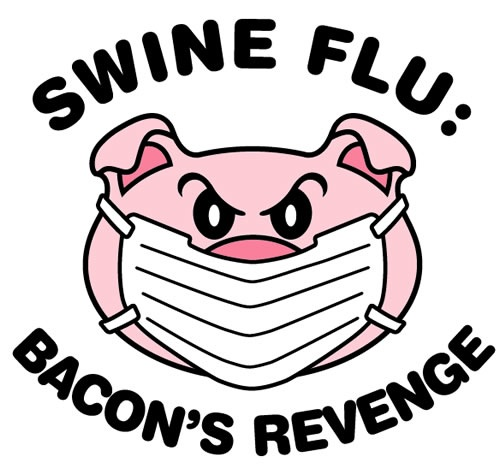 swine-flu t-shirt